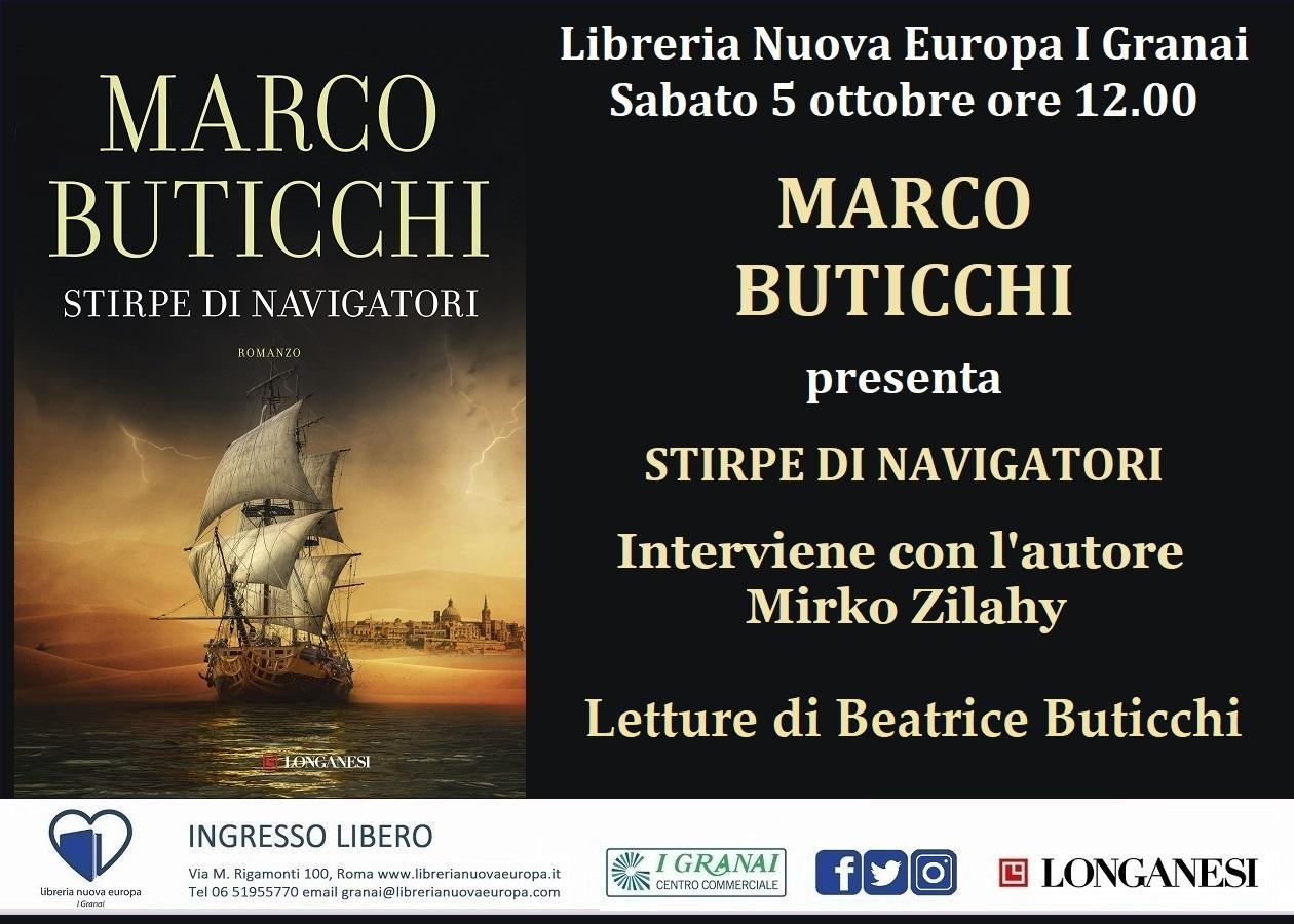 Marco Buticchi presenta