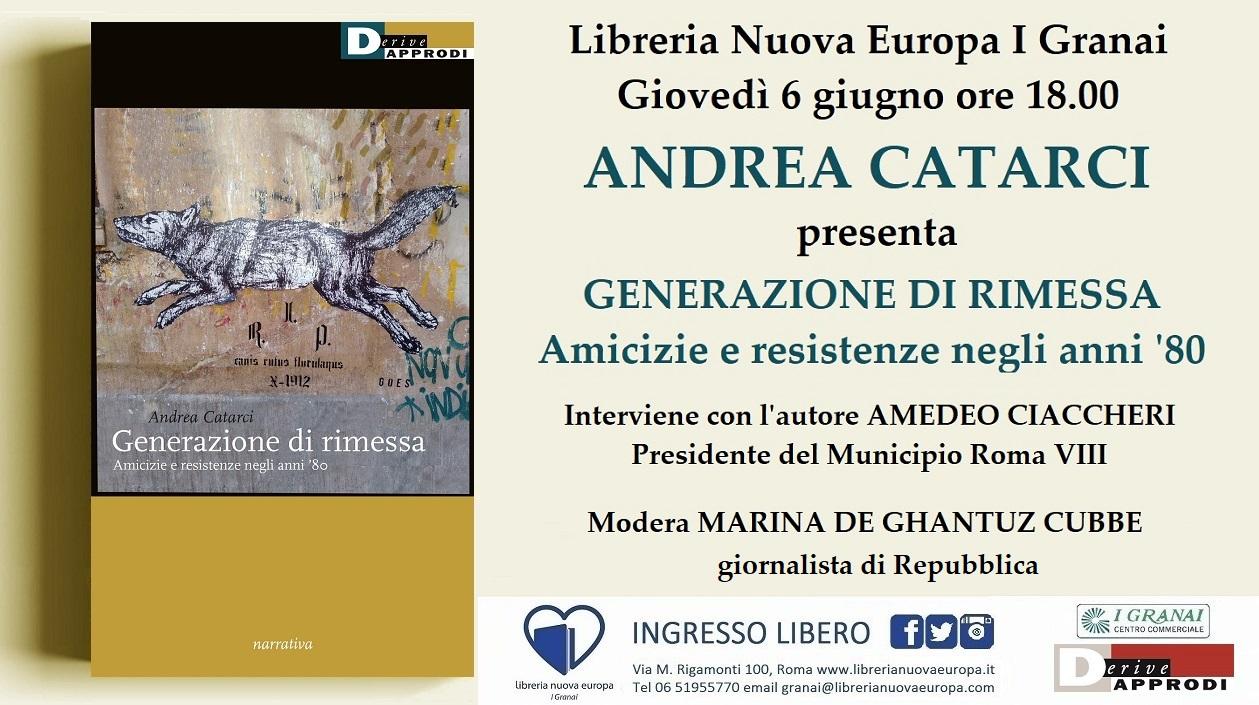 Andrea Catarci presenta