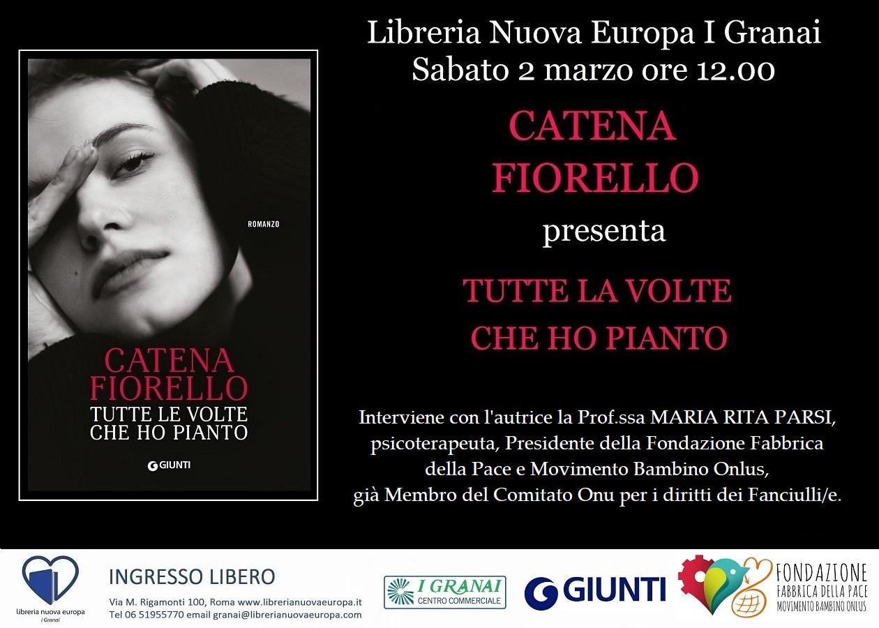 Catena Fiorello presenta