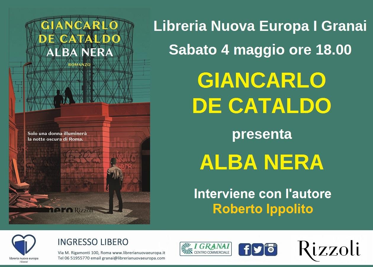 Giancarlo De Cataldo presenta