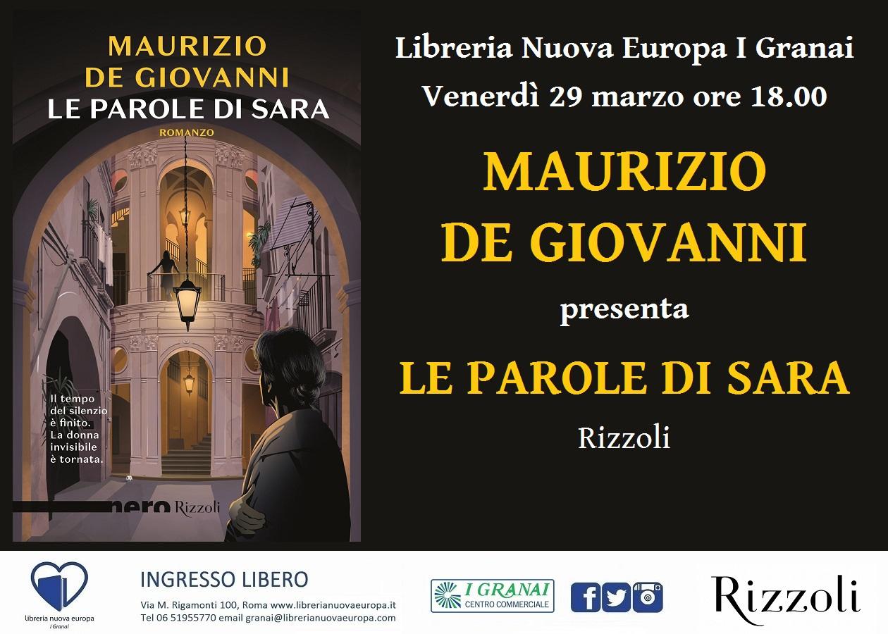 Incontro con Maurizio De Giovanni