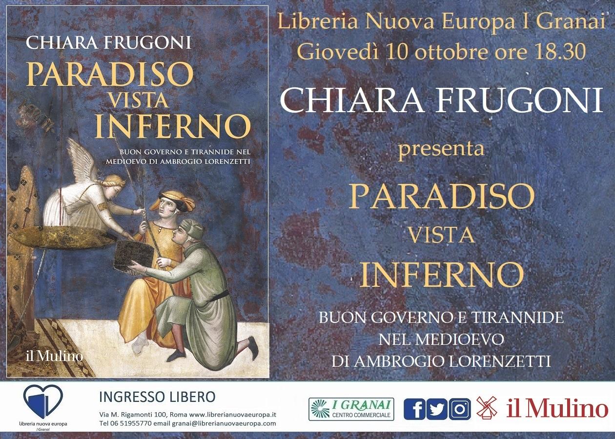 Incontro con Chiara Frugoni, Buon governo e tirannide nel medioevo di Ambrogio Lorenzetti.
