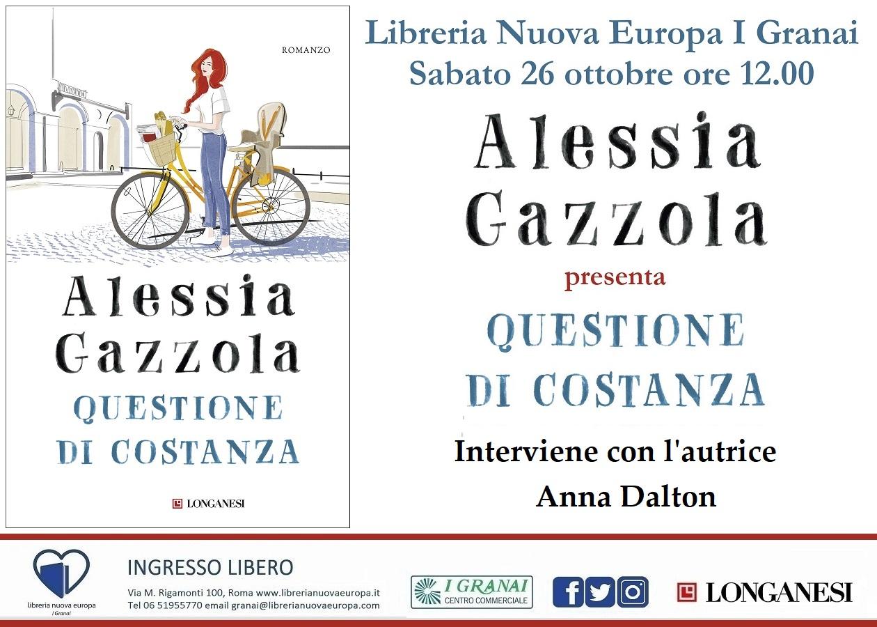 Alessia Gazzola e Anna Dalton, Questione di Costanza