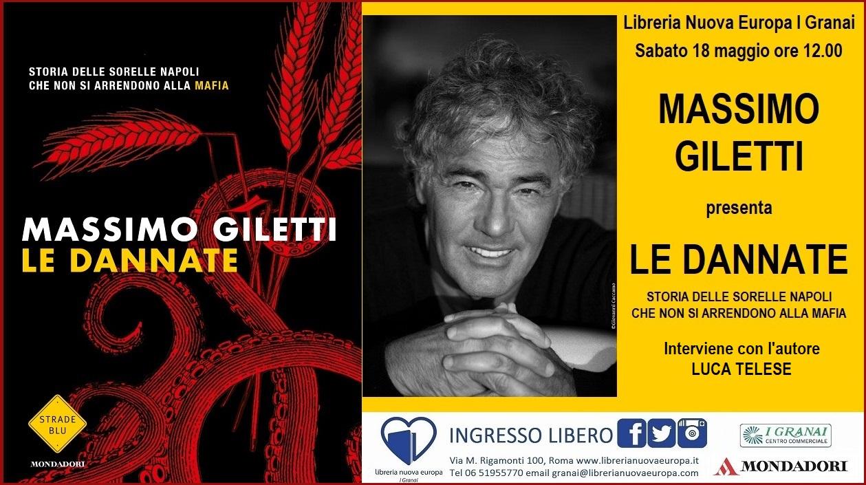 Massimo Giletti presenta