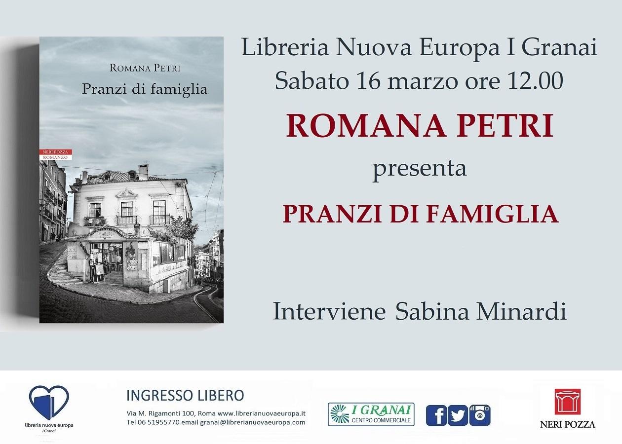 Incontro con Romana Petri