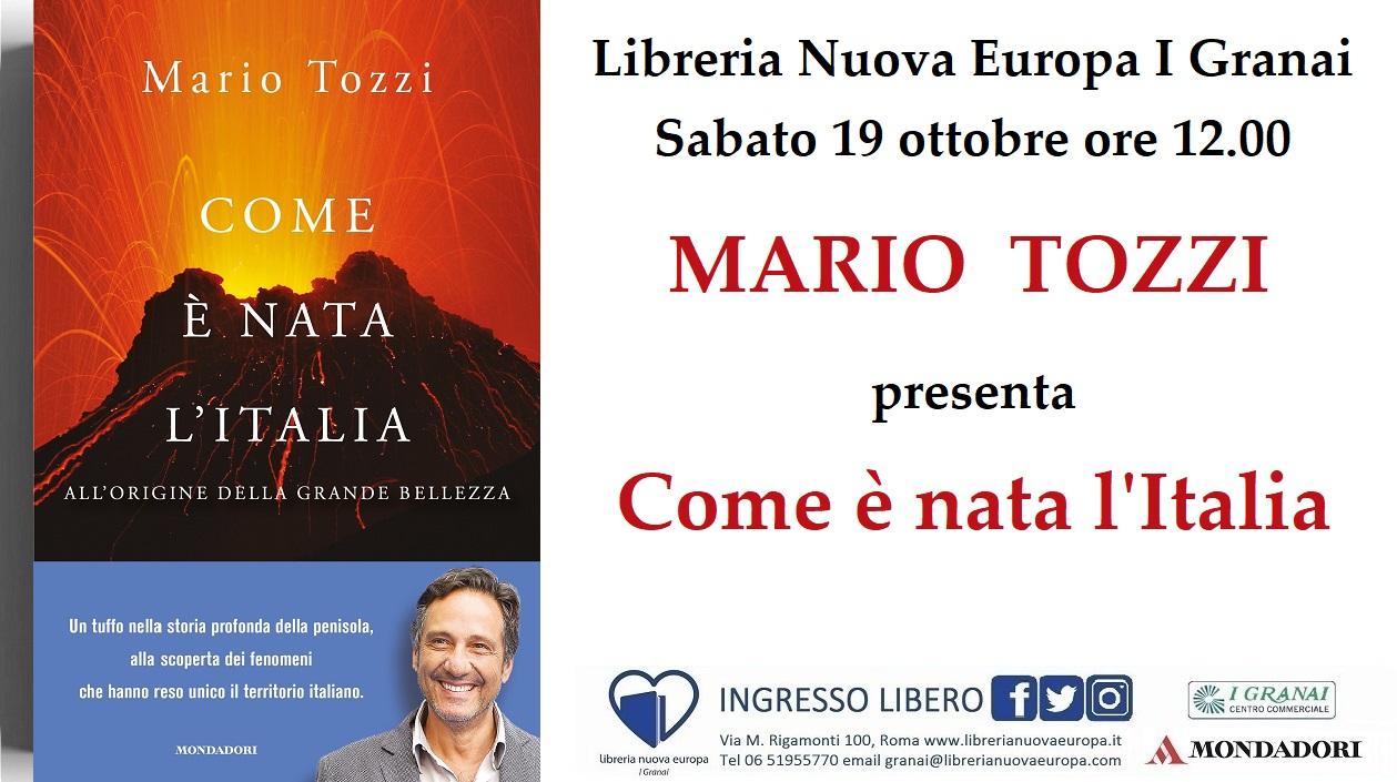Mario Tozzi presenta